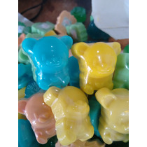 50 Mini Ursinhos - Sabonete Artesanal - Lembrancinhas