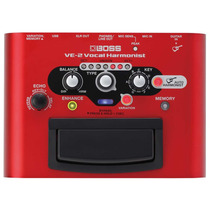 Pedal Vocal Harmonist Ve-2 Boss, Movido A Pilhas