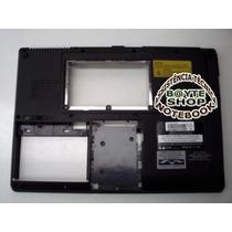 Carcaça Base Inferior + Trava Para Notebook Cce Info Rle232