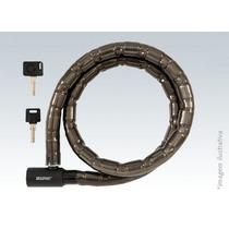 Trava P/ Moto Com Chave 1,2m Brasfort - - 2678 Nagaragem A