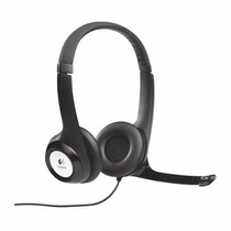 Fone De Ouvido Logitech H390 Usb - Headset Com Microfone !