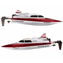 Lancha Ft007 Vitality High Speed Racing Boat Rc 2.4 Ghz