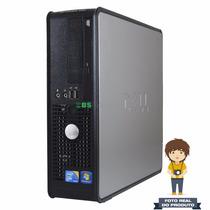Desktop Dell Optiplex 780 Sff Core 2 Duo 3.0ghz, 2gb, 250gb