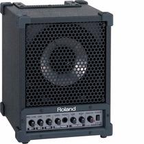 Caixa Monitor Roland Cm 30 Amplificado Estudio Baixo Violão