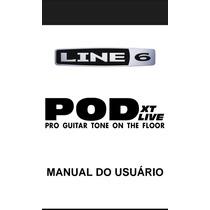 Manual Portugues Pedaleira Line6 Pod Xt Live - Pdf