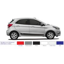 Acessórios Novo Ka Ford Ka Kit Faixa Lateral Adesivo Porta