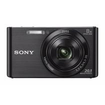 Câmera Digital Sony 20.1mp Dsc W830 Zoom Optico 8x