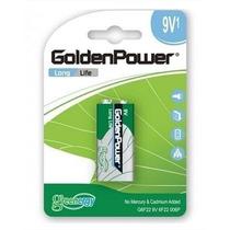Pilha Bateria 9v Golden Power Caixa Com 10 Unidades