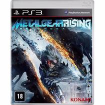 Jogo Metal Gear Rising Para Ps3 / Semi Novo/barato!!!!