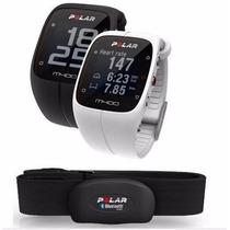 Relógio Monitor Cardiaco C/ Gps E Bluetooth M400 + H7 Polar