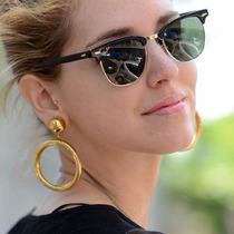 Óculos De Sol Feminino E Masculino Unissex Clubmaster + Case