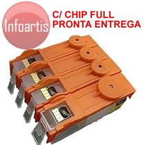 Cartucho Recarregável Hp 6830 6230 934 935 Xl Chip Full