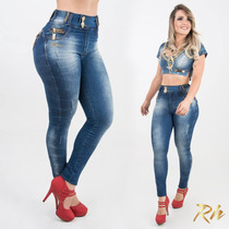 Calça Rhero Jeans Estilo Pit Bull Rosa Modela Bumbum !!!