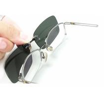Clip On De Sobrepor Óculos De Grau - Proteção Uv400