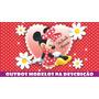 Painel Decorativo Festa Infantil Lona Banner Minnie 2 X 1m