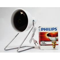 Lâmpada Infra Vermelho Philips 110/150 Com Suporte + Manual