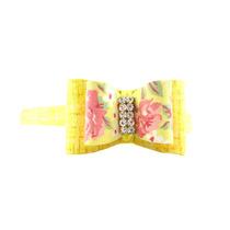 Tiara Floral Strass Nova Com Etiqueta Mariaclara Acessórios