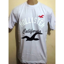 10 Camisetas Hollister - Oakley - Quiksilver Nike R$ 140,00