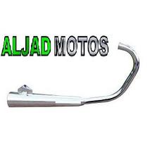 Escapamento Mini Estralador Honda Cg Titan 150 2014 Cromado