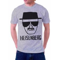 Camiseta Camisa Breaking Bad Heisenberg Série