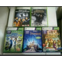 Kit Com 5 Jogos Originais Xbox360