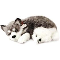Cachorro Husky Perfect Petzzz Filhote De Pelúcia 10cm