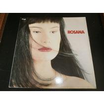Lp Rosana - Doce Pecado, Disco Vinil C/ Encarte, Ano 1990