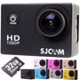 Camera Sjcam Sj4000 Original Filmadora Full Hd + 32gb 1080p