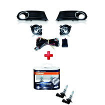 Kit Farol De Milha Gol Voyage G5 + Lamp. Night Breaker Osram