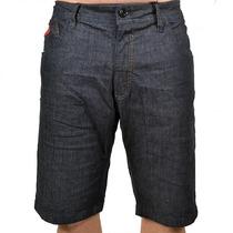 Bermuda Jeans Lost Slim Label Red Azul