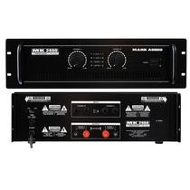 Amplificador Potência Mark Audio Mk-2400 400w
