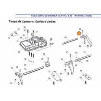 Garfo Seletor 1ª Marcha Cambio Eaton Cl2615b 3343562 3316770