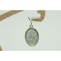 Pingente Medalha São Bento (mds90011) Prata 925 Lindo !