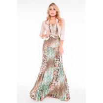 Vestido Fascinius Moda Evangelica