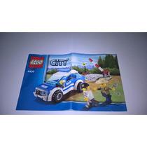 Manual Lego City Polícia 4436-frete 10,00