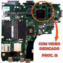 Placa Mãe Asus K46cm S46ca Com Vídeo Dedicado Proc.i5 (6992)