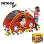Toca Barraca Futoca Ball Com 150 Bolinhas Brinquedo Infantil