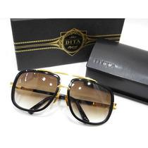 Oculos De Sol Dita Mach One Completo + Grarantia + Uv400