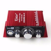 Mini Modulo Amplificador 2canais Carro Ma-170 Barco Mp3 Ipod