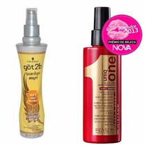 Got2b Protetor Térmico + Revlon Leave-in Uniq One