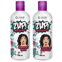 Zup Escova Progressiva G Hair Help Progress 2 X 500ml