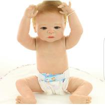 Bebê Reborn Menino Menina Realista Silicone Frete Grátis