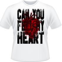 Camiseta Can You Feel My Heart Bring Me The Horizon Camisa