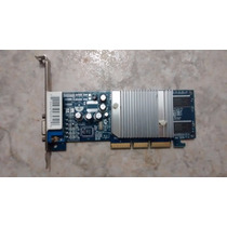 Placa De Video Agp 128mb Nvidia Xfx Geforce Gf Mx4000 Ddr Tv