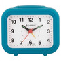 Despertador Quartz Herweg 2630 267 Azul Analógico - Refinado