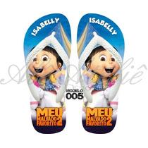 Sandálias Havaianas Personalizadas Malvado Favorito Minions