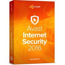 Avast Premier Antivirus 2016 - 3 Pcs 3 Anos - Registro!