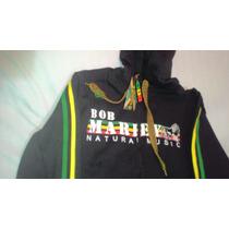 Moleton Rasta Bob Marley Elanca Tamanho M + Brinde