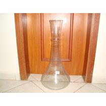 Vaso De Vidro Rublim - Decorativo Transparente