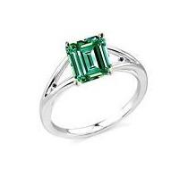 Anel Solitário Diamante De Moissanite+2 Diamante Vdd Prata